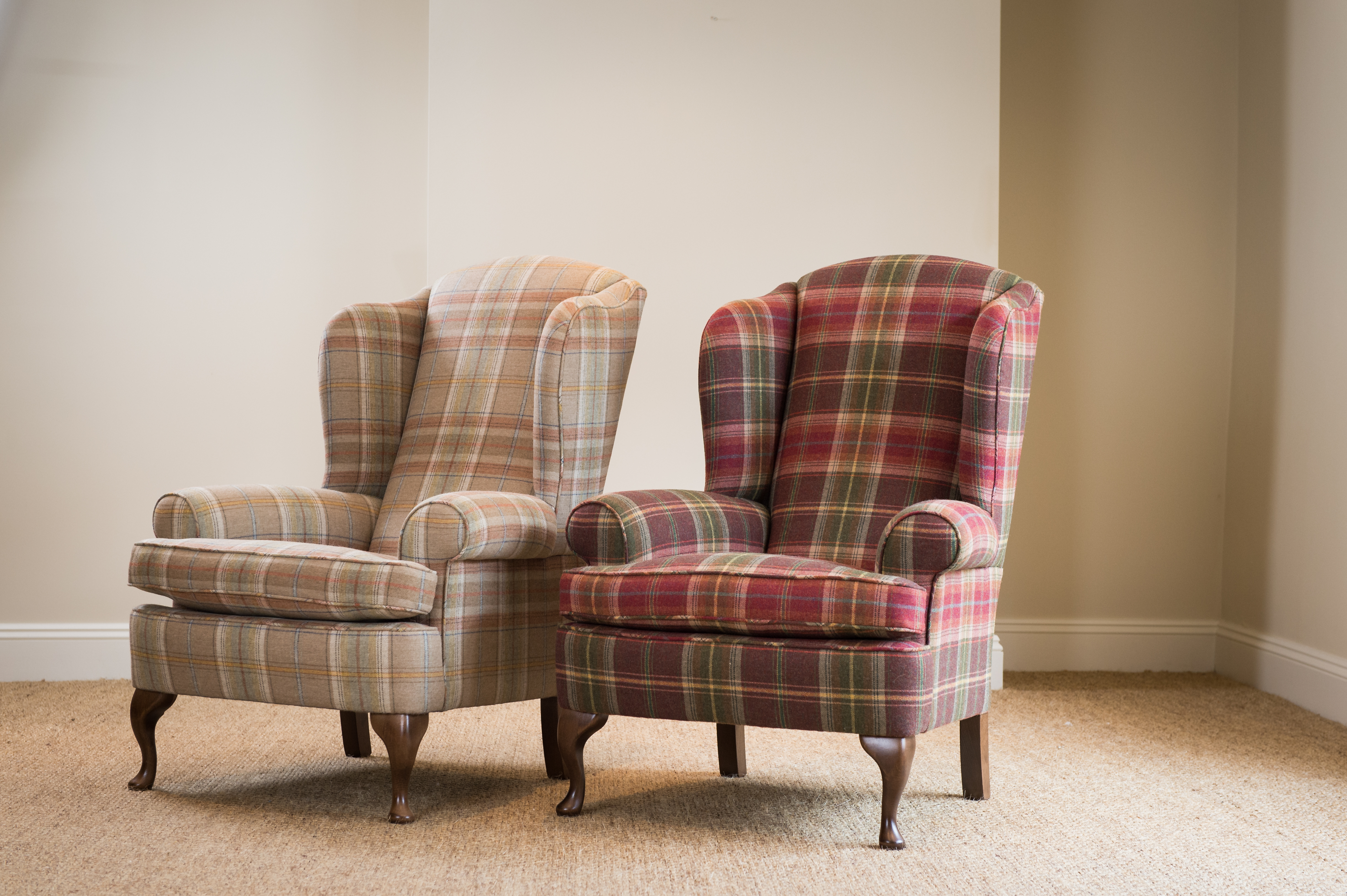 Portland Wing Chair Taylor and Baines